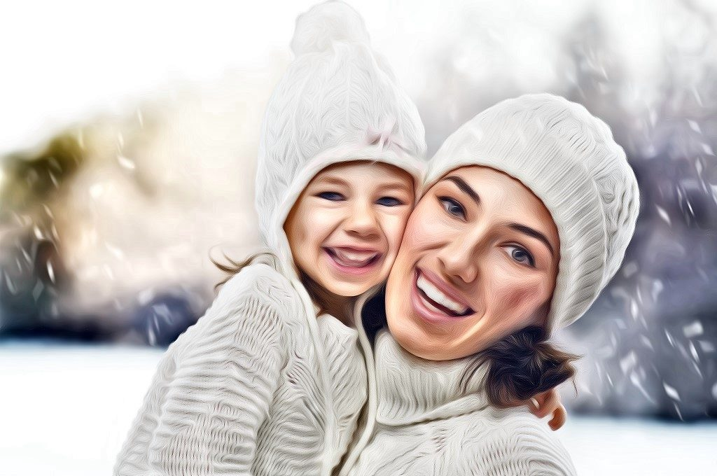 mom-and-daughter-winter