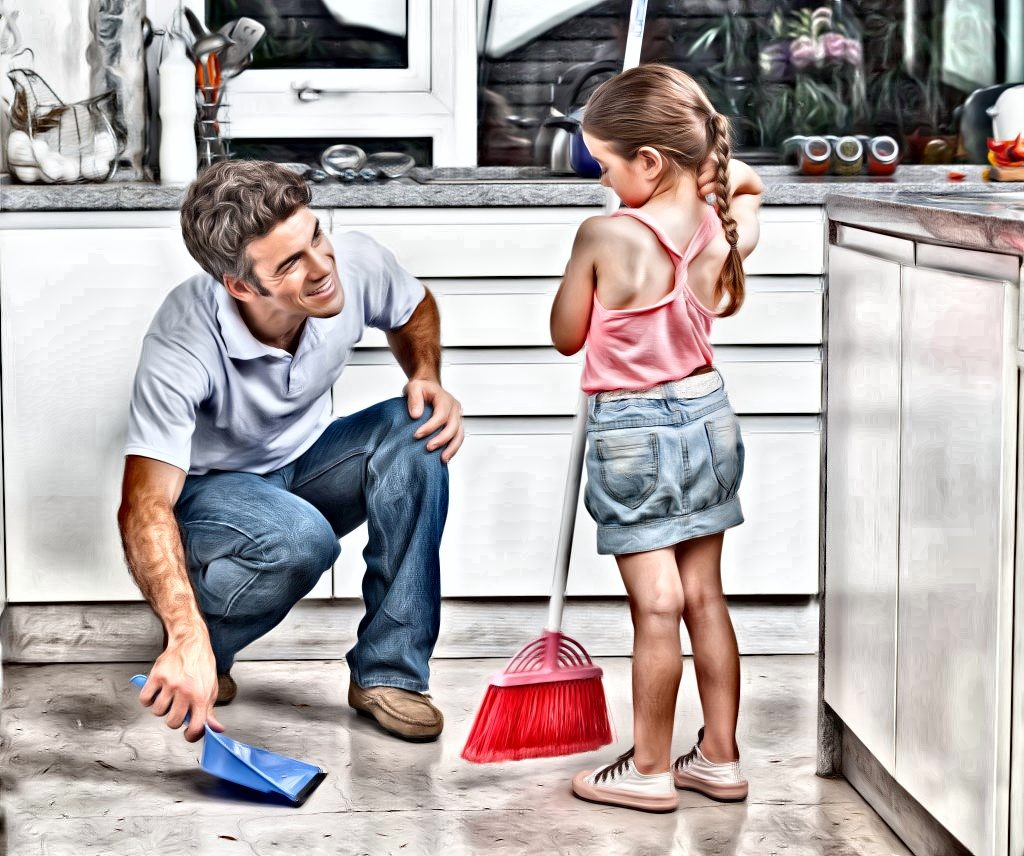 father-and-daughter-spring-cleaning_080711